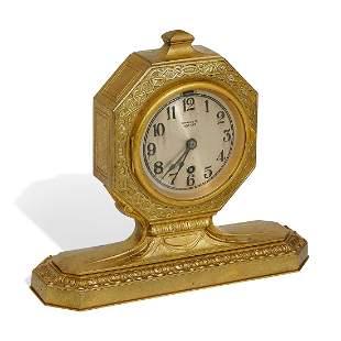 Tiffany Studios, desk clock