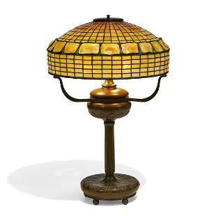 Tiffany Studios Turtleback table lamp