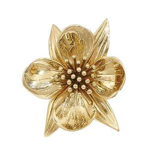 George Schuler for Tiffany & Co. clip brooch