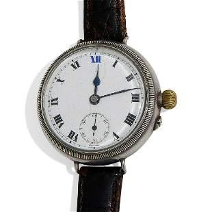 François Borgel WWI Trench wristwatch