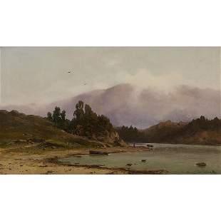 Carl von Perbandt, Mountainous River Landscape