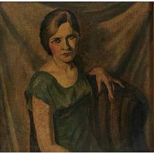 A.A. Gray, Portrait of a Lady, 1929
