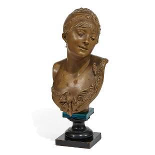 After Albert-Ernest Carrier-Belleuse, Bust of…