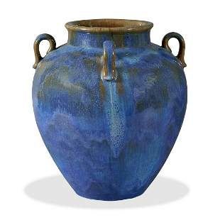 Fulper Pottery Co. Chinese Blue Flambé vase
