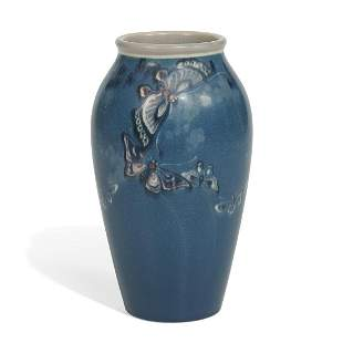 Fred Rothenbusch for Rookwood Pottery Vellum vase