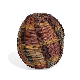 Fran Kraynek-Prince & Neil Prince woven basket
