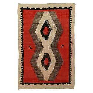 Navajo rugs, two