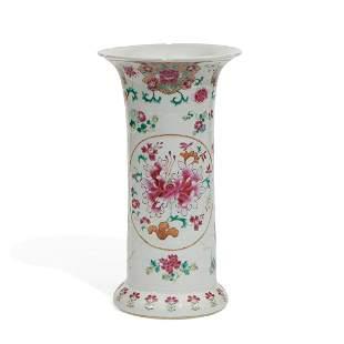 Chinese waisted form vase