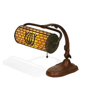 The Handel Lamp Co. adjustable piano lamp