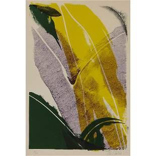 Paul Jenkins, Untitled, color lithograph