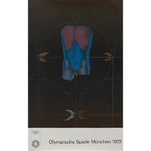 Albers, D'Arcangelo, Hockney... Olympic posters