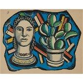 Fernand Léger, Tête et Cactus (Head and Cactus)