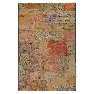 After Paul Klee by Axminster, Klee Collection rug