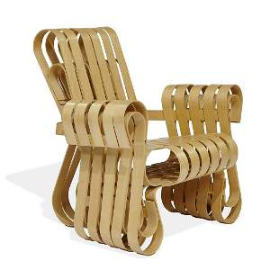 Frank Gehry for Knoll, Power Play club chair