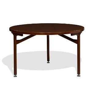 Jens Risom, three-leg dining table