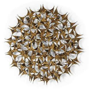 Marc Weinstein for Marc Creates, wall sculpture