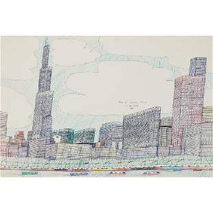 Wesley Willis, The Lakefront, 1987