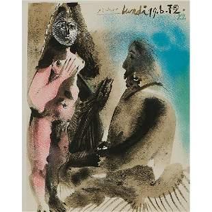 Pablo Picasso, Lundi 19. 6. 72. 22, 1972