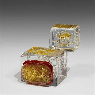 Robert Wilson & Elio Raffaeli sculpture