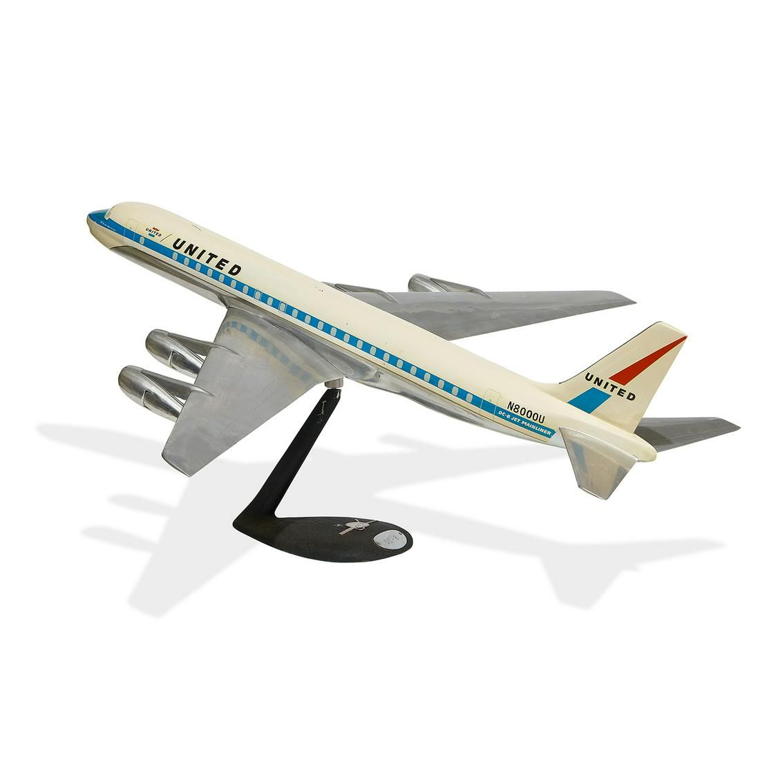 Westway Aircraft Models DC-8 model airplane