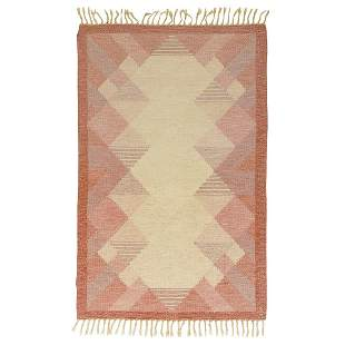 Anna Johanna �ngstr�m R�lakan flat-weave rug