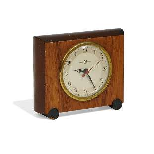 Gilbert Rohde for Herman Miller desk clock