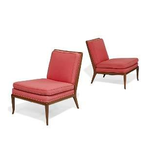 T.H. Robsjohn-Gibbings, Widdicomb lounge chairs