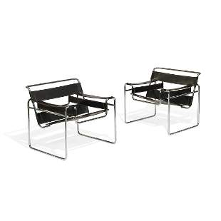 Breuer for Knoll / Gavina Wassily lounge chairs