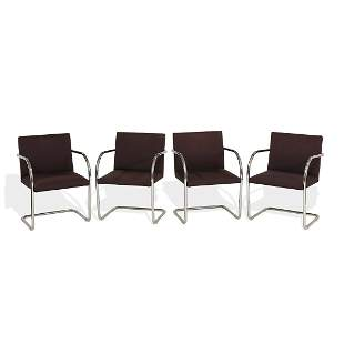 Ludwig Mies van der Rohe for Knoll BRNO chairs