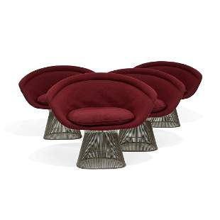 Platner for Knoll International lounge chairs