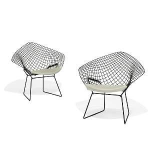 Harry Bertoia for Knoll Diamond lounge chairs