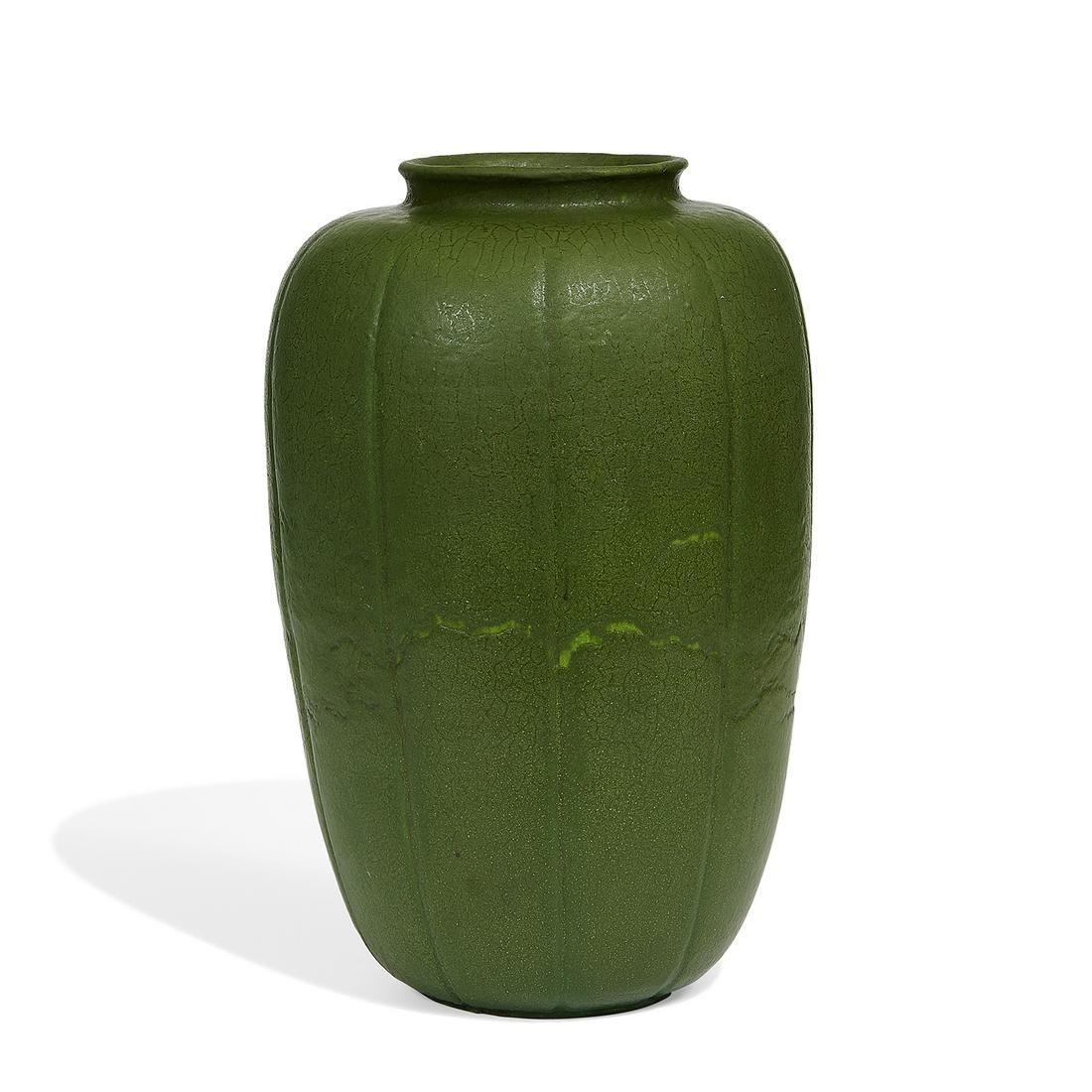 Grueby large vase, shape number 146