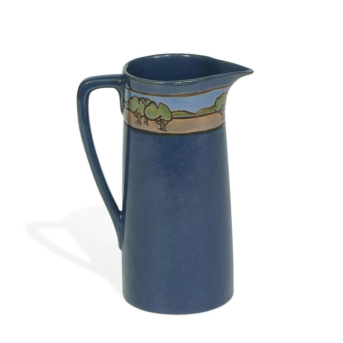 Saturday Evening Girls Landscape pitcher