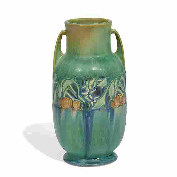 Roseville Pottery Co. Baneda vase, shape 594-9