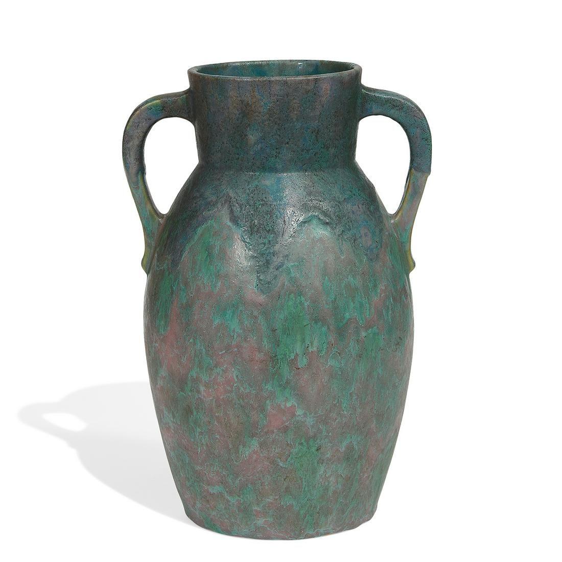 Roseville Pottery Co. Carnelian II vase