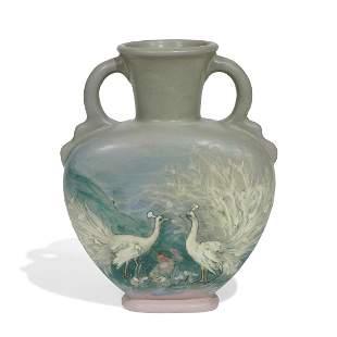 Hester Pillsbury, Weller Pottery Hudson vase