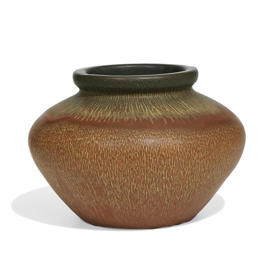 Weller Pottery Co. very large Fruitone vase