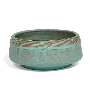 Van Briggle Pottery bowl, shape number 541
