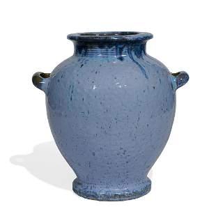 Fulper Pottery Co. large urn vase, shape 490