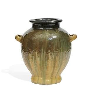 Fulper Pottery Co. urn vase, shape number 490