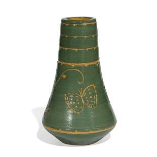 Dorothy Olson, North Dakota School of Mines vase