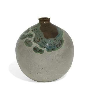 Raoul Lachenal spherical form vase