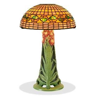 Kataro Shirayamadani, Rookwood / Tiffany lamp
