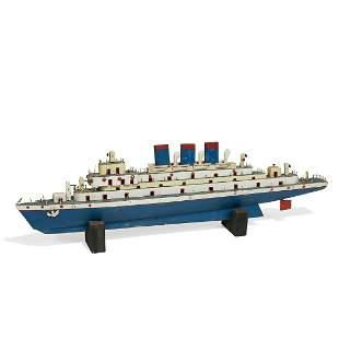 American Folk Art handmade luxury ocean liner