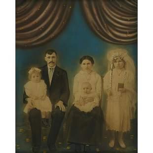 Antique Photography family portrait