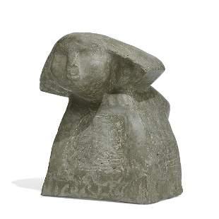 American Folk Art homemade sphinx