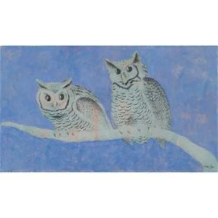 Dudley Huppler, Two Owls
