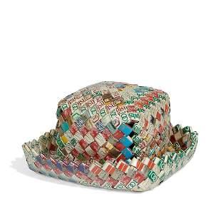 William Warmack, Cigarette Package Hat