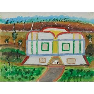 William Dawson, A Futuristic House, 1988