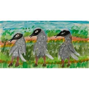 William Dawson, Three Birds, 1990